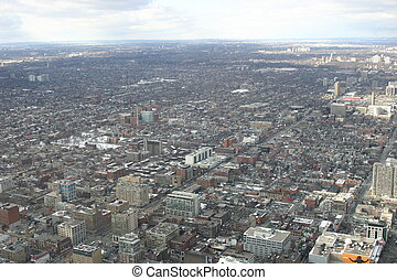 Toronto downtown skyline - Skyline of downtown Toronto,...