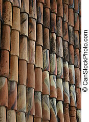Spectacular designs of the shingled roof