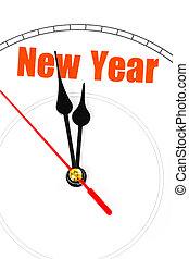Pojęcie, nowy, rok