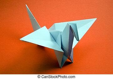 origami - paper bird origami