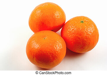 mandarin - Mandarin oranges with Clipping Path