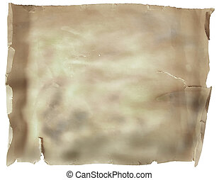 Manuscript roll of parchment paper texture background