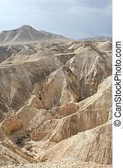 Judea desert - Wiev over Judea desert in Israel