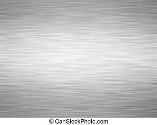 brushed iron - sheet of rendered brushed grey iron or metal