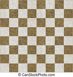 marble floor - image of a checkered marble floor pattern