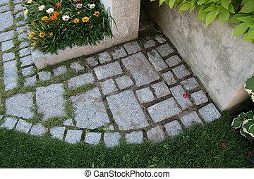 Cornerstone - Just some brickwork