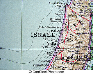 Israel 2 - The way we looked at Israel in 1949.