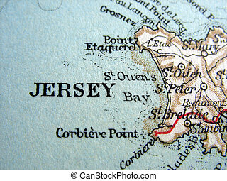 Jersey - The way we looked at Jersey in 1949.