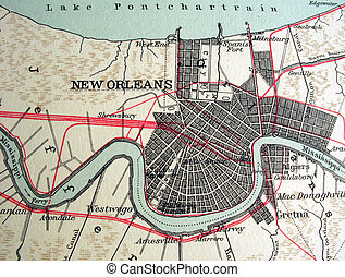 New Orleans - The way we looked at New Orleans in 1949.