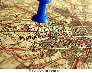 Philadelphia - The way we looked at Philadelphia in 1949