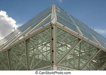 Glass building structure of Tuscon, AZ