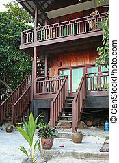 Tropical beach house - Tropical balineses style resort beach...