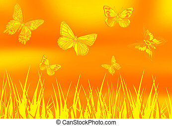 Butterfly ground 1