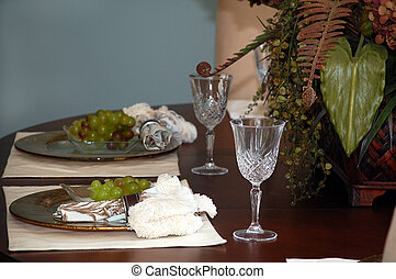 Fancy tble setting - Fancy formal table setting