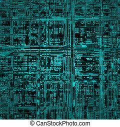 eléctrico, circuito