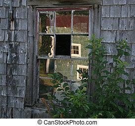 rural, reflet