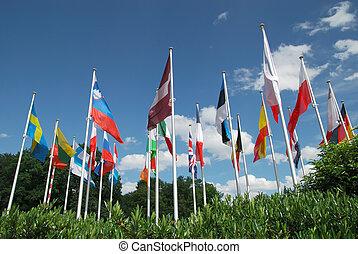 Flaggen, europäische