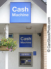 Cash machine - Just the three signs then, no doubting...