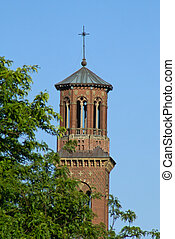 harvard bell tower - Unique bell tower in harvard square...