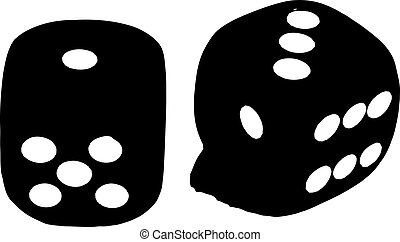 2 dice showing 1 and 3 i