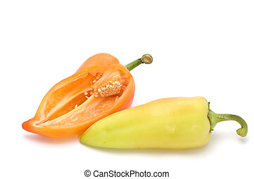 cayenne - series object on white - food - cayenne
