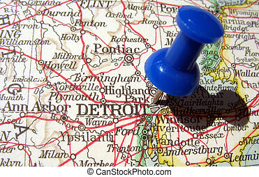 Detroit, Michigan - The way we looked at Detroit, Michigan...