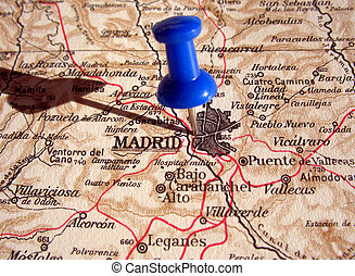 Madrid - The way we looked at Madrid in 1949.