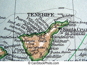 Tenerife - The way we looked at Tenerife in 1949.