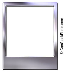 polaroid picture frame - Chrome polaroid picture frame