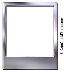 polaroid picture frame - Chrome polaroid picture frame