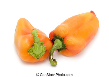 capsicum - series object on white - food - cayenne