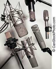 Microphones - A series of recording studio microphones...