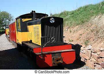 guardagujas, tren