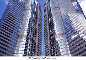 Business Buildings in Hong Kong