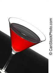 red cool cocktail