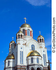 cathedral - Spas-na-krovi cathedral, Yekaterinburg, Russia