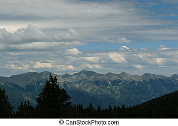 Sangre de Cristo view - A view of the Sangre de Cristo...