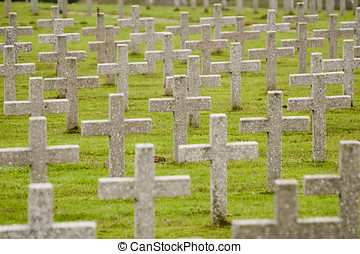 War Graves in France - World War One war graves in France -...