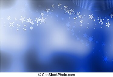 starry blue background - smooth elegant and uncluttered blue...