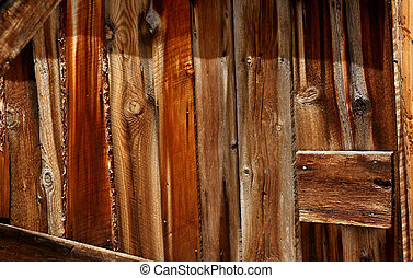 Weathered Wood 3 - A weathered wood building at the Rawlins...