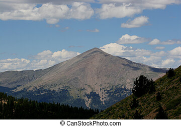 Sangre de Cristo view - In the Sangre de Cristo mountains in...