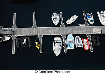 Small boats - A fragment of port in Monte Carlo. Small boats...