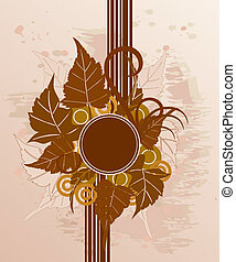 Abstract background - Abstract floral background...