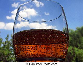 bubbles in glass - bubbles in g;lass