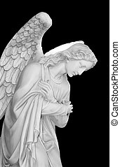 Cemetery angel - Series of Cemetery Angels and monuments
