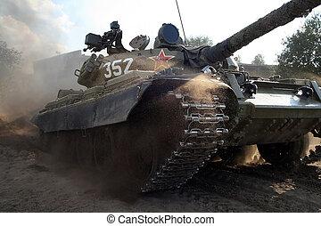 Tank - T-55, russian tank