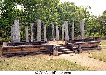 Ruins near Mahasena\\\'s  - Ruins in Anuradhapura