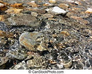 agua,  3, rocas