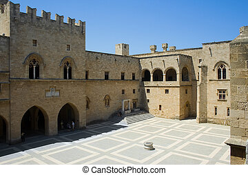The Palace of the Grand Masters - Inside the Palace of The...
