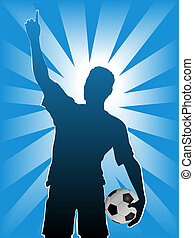 Football Soccer Sports Silhouette